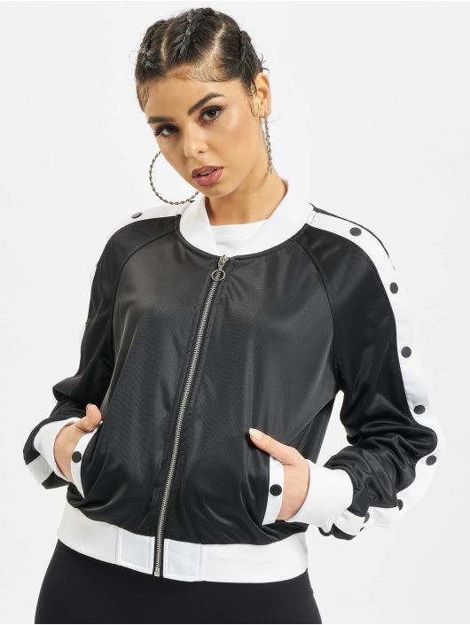 Urban Classics Übergangsjacke Button Up schwarz