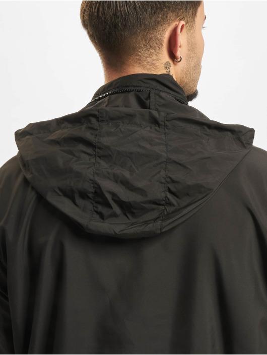 Urban Classics Übergangsjacke Hidden Hood schwarz