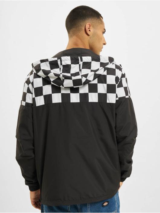 Urban Classics Übergangsjacke Check Pull Over schwarz