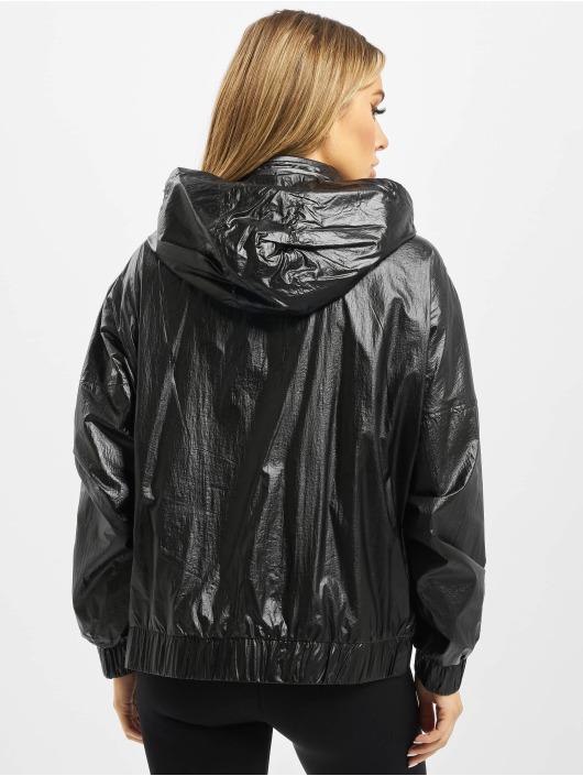 Urban Classics Übergangsjacke Ladies Vanish Crinkle schwarz
