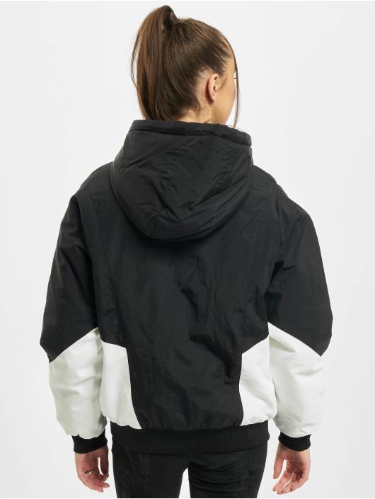 Urban Classics Übergangsjacke Ladies Padded 2-Tone Batwing schwarz