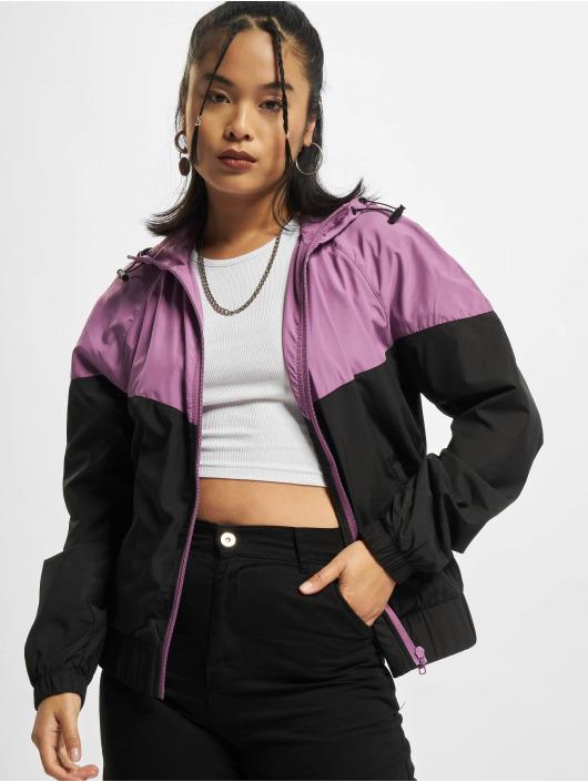 Urban Classics Übergangsjacke Arrow violet