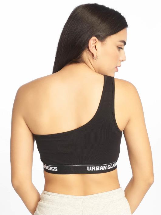 Urban Classics Unterwäsche Asymmetric Logo schwarz