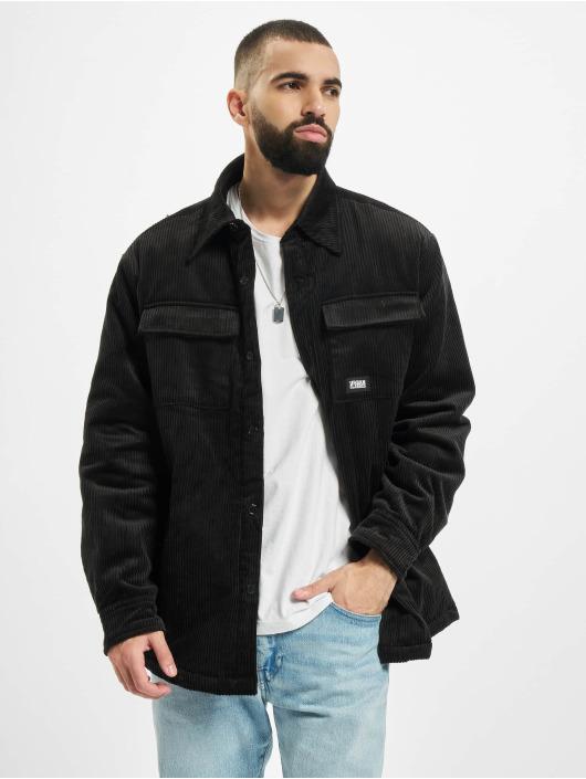 Urban Classics Välikausitakit Corduroy Shirt musta