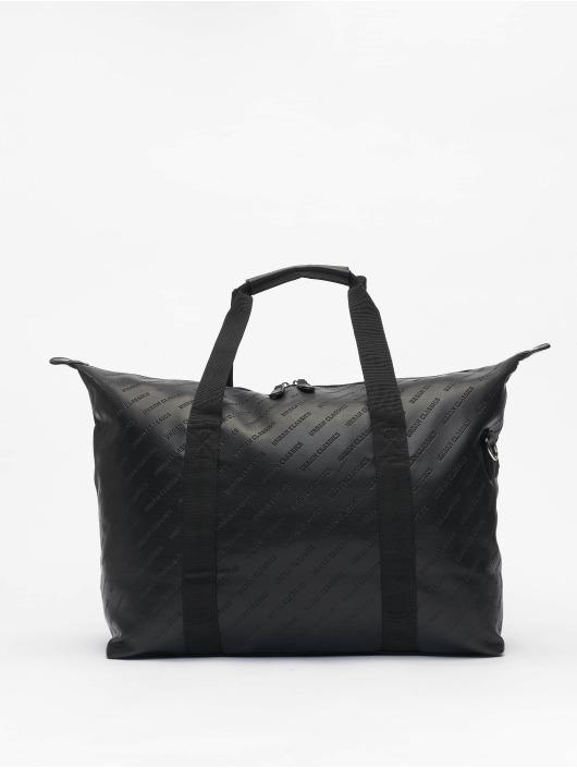 Urban Classics Väska Imitation Leather Weekender svart