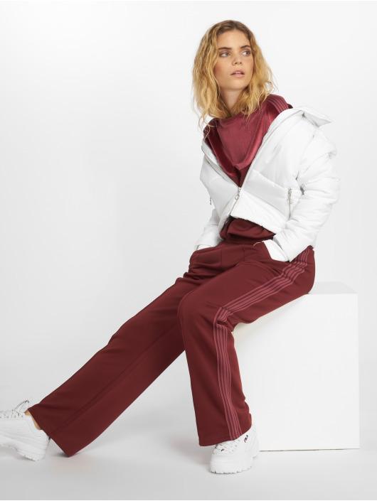 Urban Classics Vattert jakker Oversized High Neck hvit