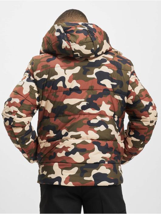 Urban Classics Vattert jakker Hooded Camo kamuflasje