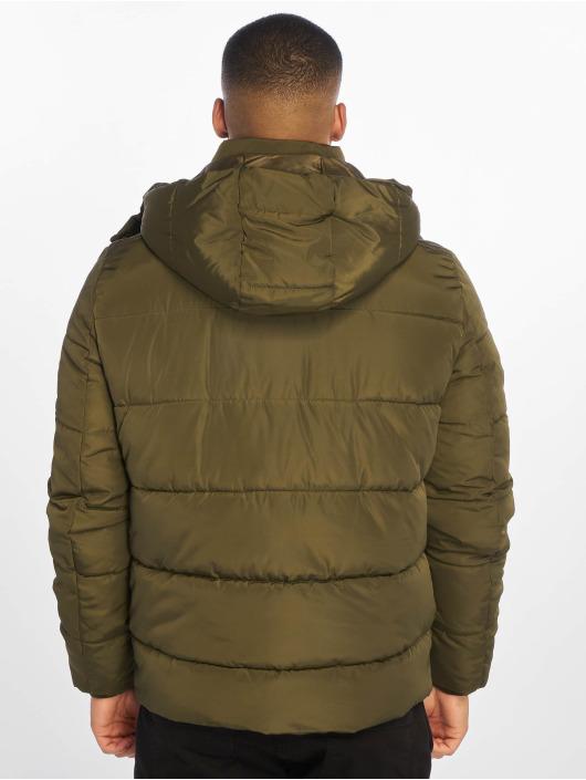 Urban Classics Vattert jakker Hooded Puffer oliven