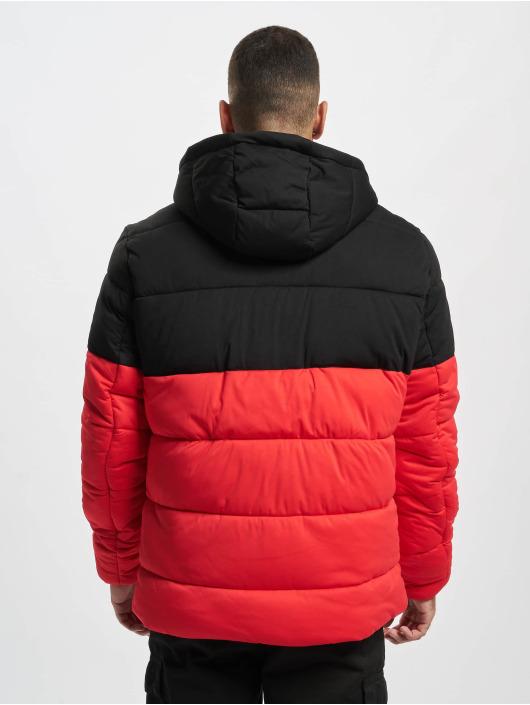Urban Classics Vattert jakker Hooded 2-Tone red