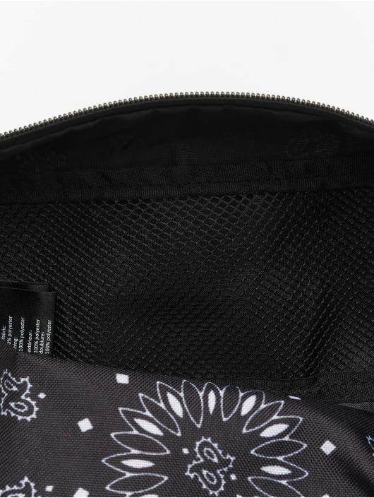 Urban Classics Vesker Bandana Print Cosmetic svart