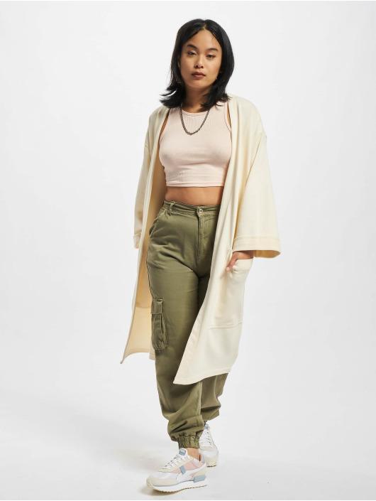Urban Classics vest Ladies Oversized Terry beige