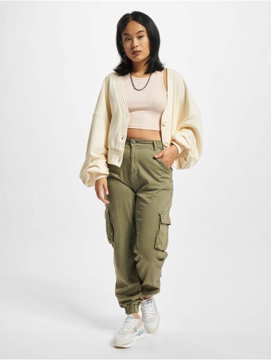 Urban Classics vest Ladies Organic Oversized beige