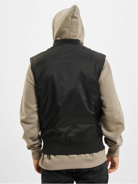 Urban Classics Vest Bomber black