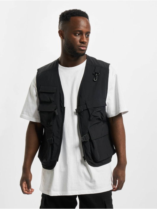 Urban Classics Vest Tactical Vest black