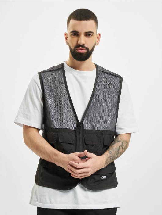 Urban Classics Vest Light Pocket black