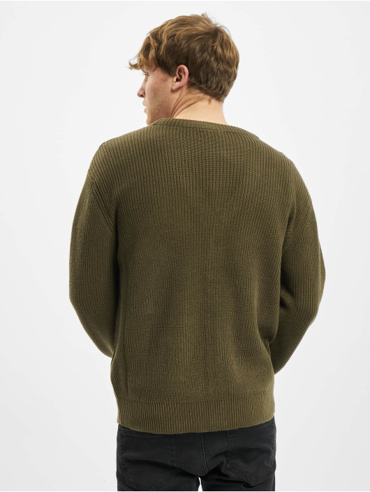 Urban Classics vest Boxy olijfgroen