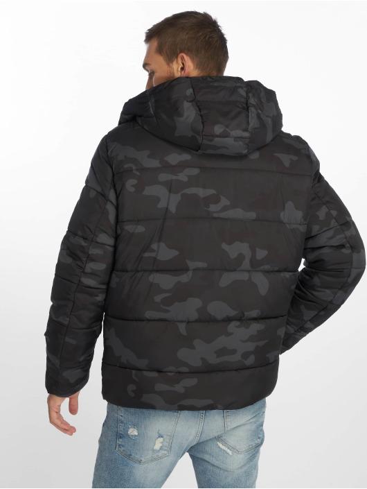 Urban Classics Veste matelassée Hooded camouflage