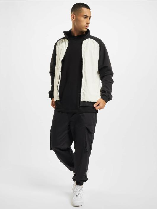 Urban Classics Veste mi-saison légère Crinkle Contrast Raglan blanc