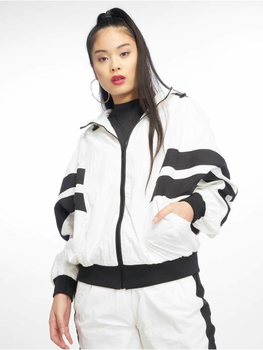 Urban Classics Veste mi-saison légère Crinkle Batwing blanc