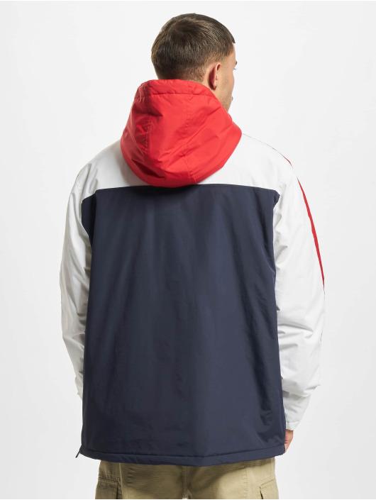 Urban Classics Veste mi-saison légère 3-Tone Padded Pull Over Hooded bleu