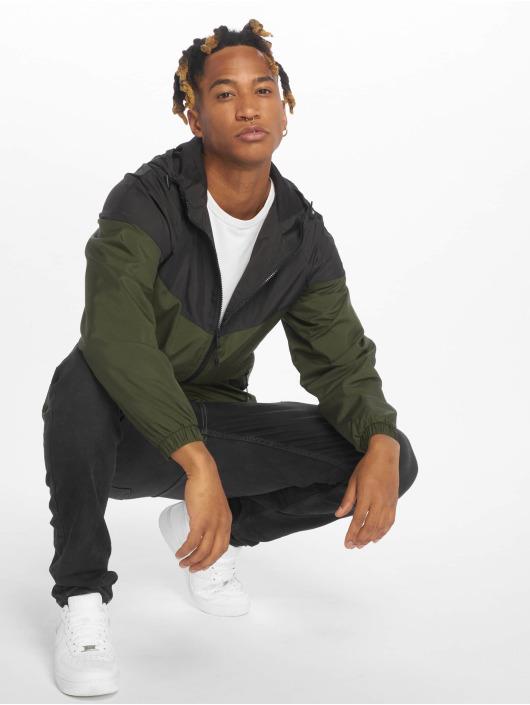 Urban Classics Veste mi-saison légère 2-Tone Tech noir