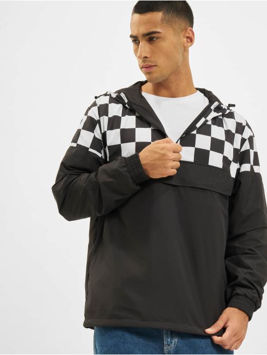 Urban Classics Veste mi-saison légère Check Pull Over noir