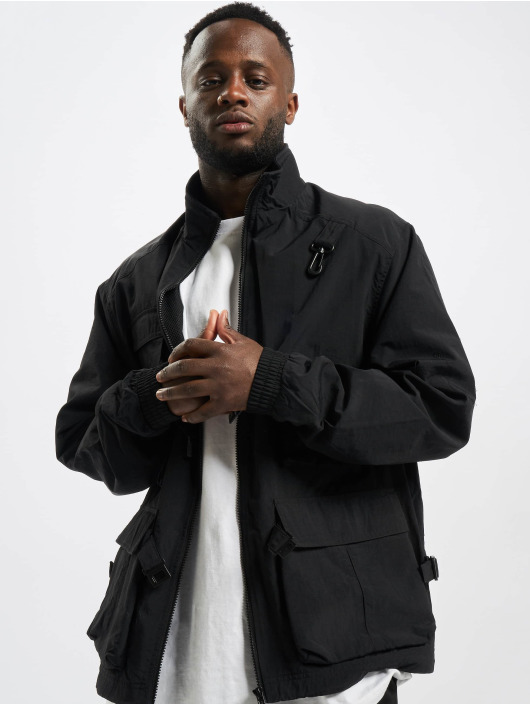 Urban Classics Veste mi-saison légère Multi Pocket noir