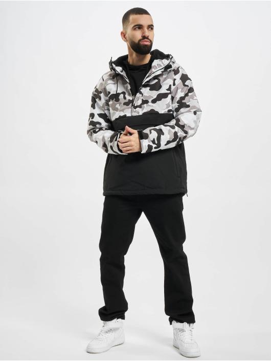 Urban Classics Veste mi-saison légère Camo Mix Pull Over noir