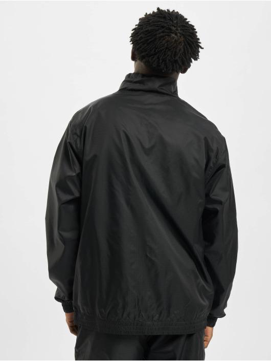 Urban Classics Veste mi-saison légère Jacquard noir