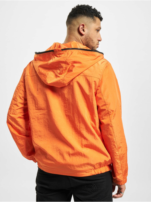 Urban Classics Veste mi-saison légère Full Zip Nylon Crepe orange