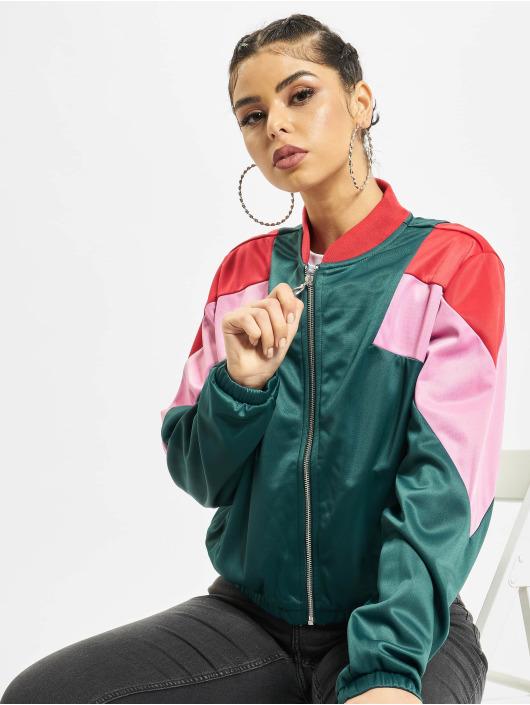 Urban Classics Veste mi-saison légère 3-Tone vert