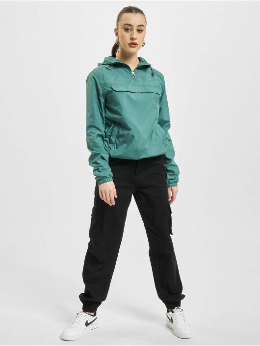Urban Classics Veste mi-saison légère Basic Pull Over vert