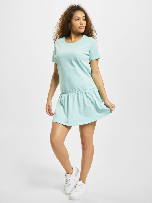 Urban Classics Vestido Valance azul