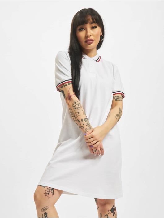 Urban Classics Vestido Polo blanco