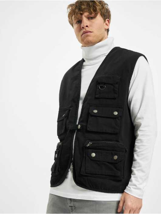 Urban Classics Vesty Worker čern