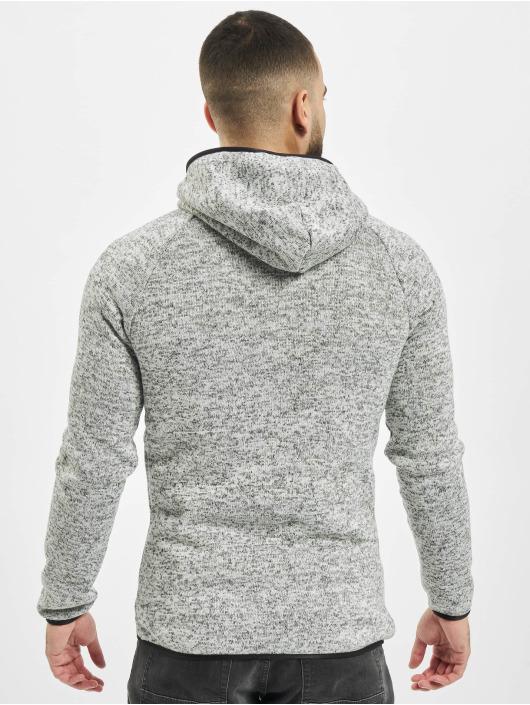 Urban Classics Vetoketjuhupparit Knit Fleece harmaa