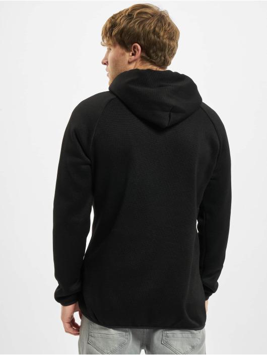 Urban Classics Vetoketjuhupparit Knit Fleece musta