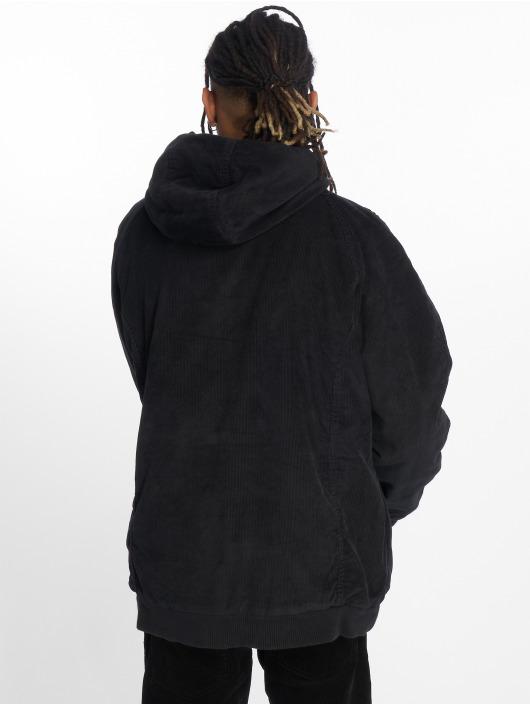 Urban Classics Vinterjakke Hooded Corduroy svart