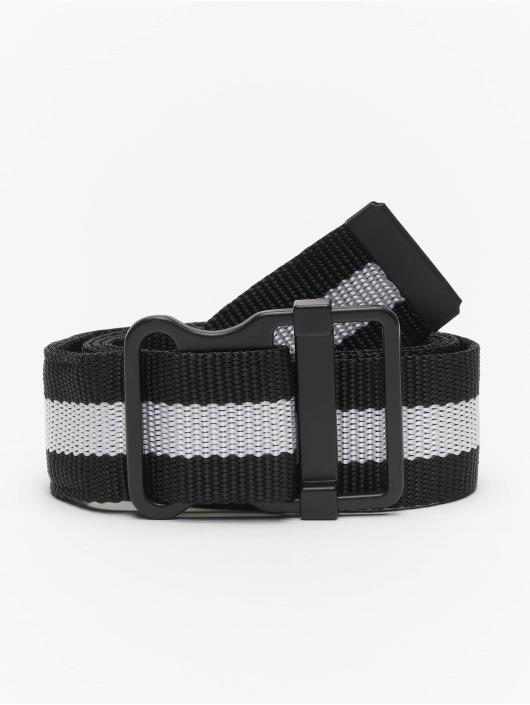 Urban Classics Vyöt Easy With Stripes musta