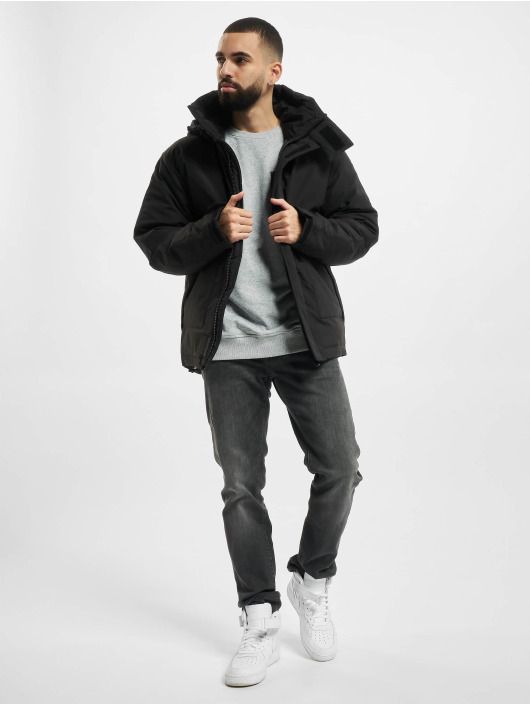 Urban Classics Winter Jacket Multipocket black