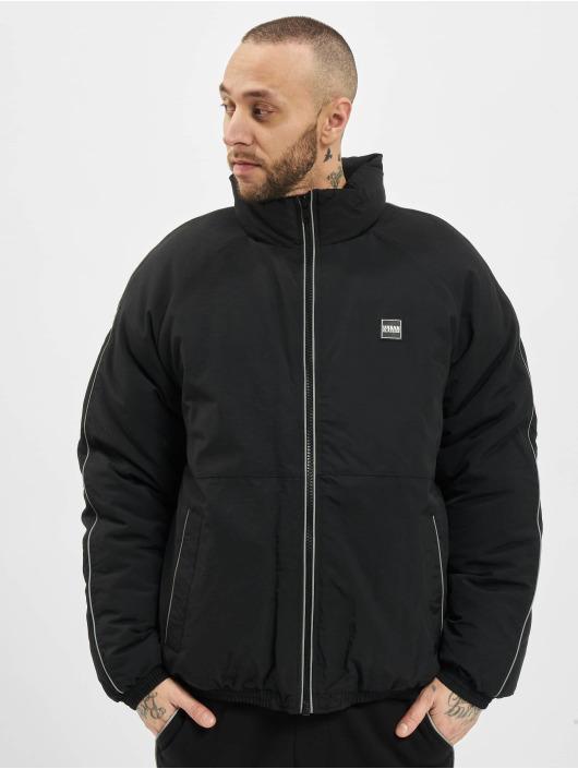 Urban Classics Winter Jacket Reflective Piping black