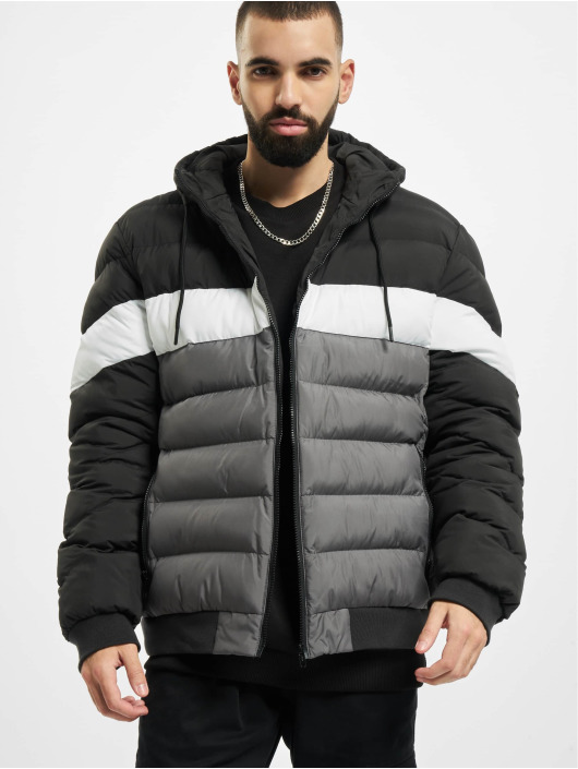 Urban Classics Winter Jacket Colorblock Bubble black
