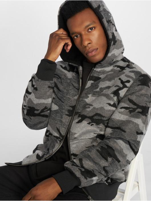 Urban Classics Winter Jacket Camo camouflage