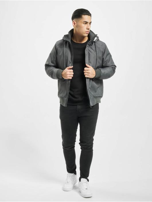 Urban Classics Winter Jacket Heavy Hooded grey