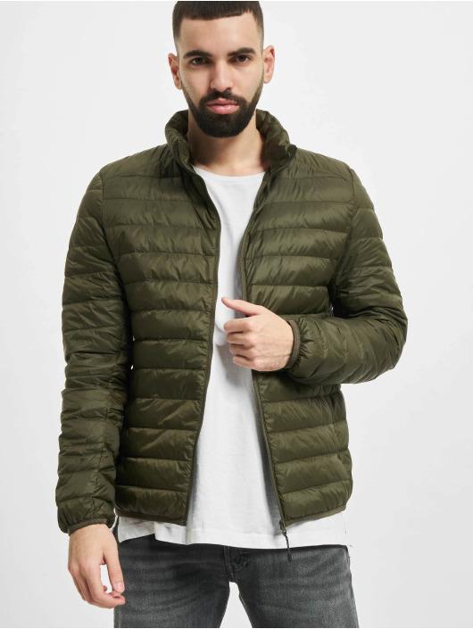 Urban Classics Winter Jacket Basic Down olive
