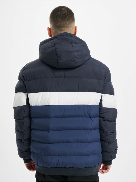 Urban Classics Winterjacke Colorblock Bubble blau