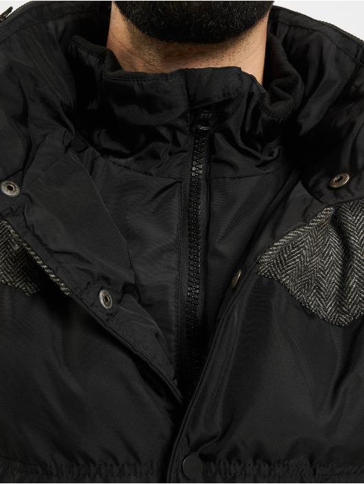 Urban Classics Winterjacke Material Mixed schwarz