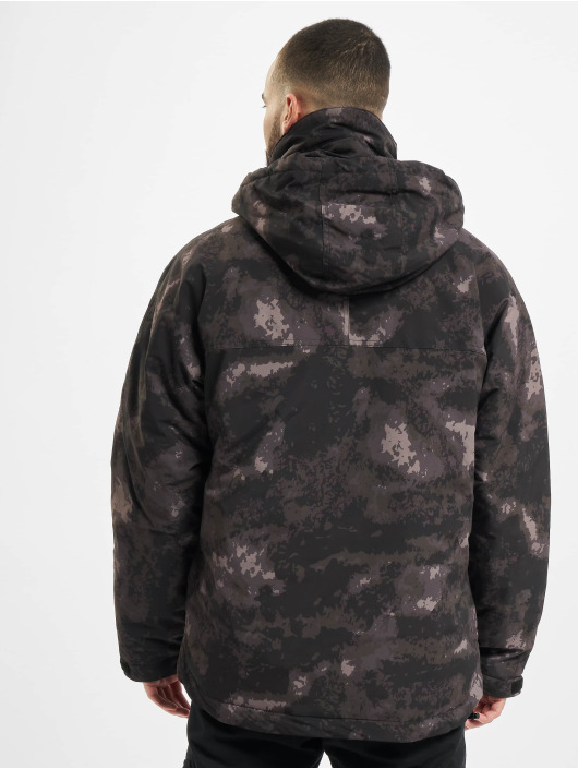 Urban Classics winterjas Multipocket camouflage