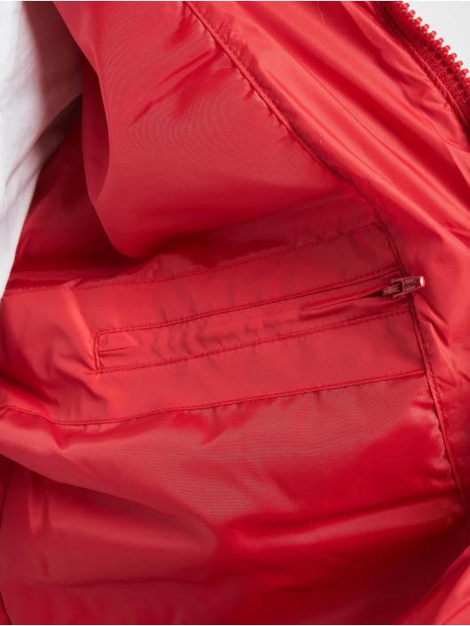 Urban Classics winterjas Basic Bubble rood