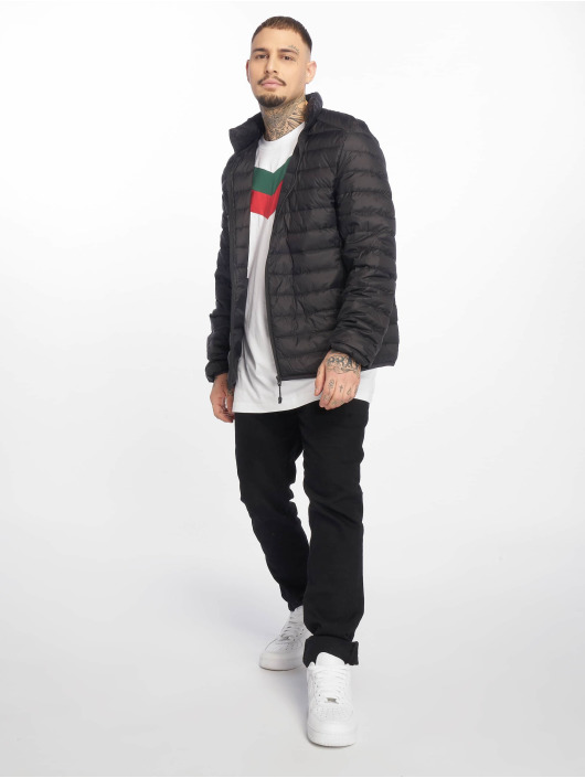 Urban Classics winterjas Basic Down zwart